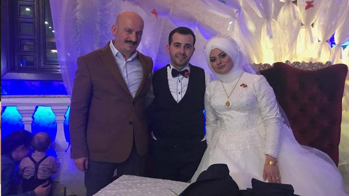 Merve ARSLAN ile Feyyaz İZMİRLİ'nin düğün merasimine katıldık