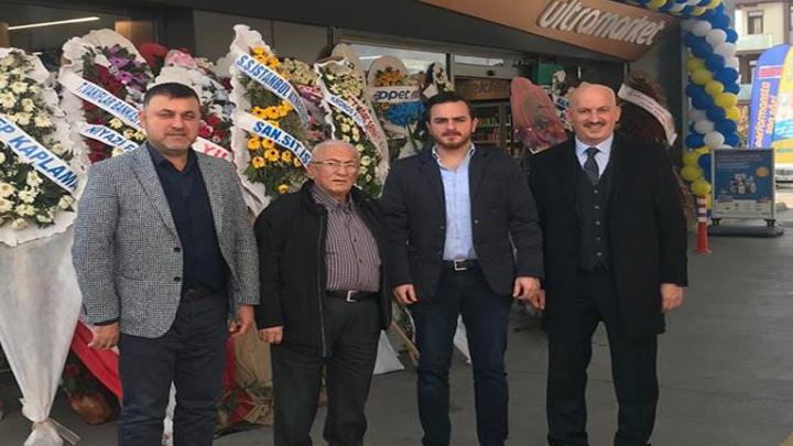 Yunus Emre Esen'in açılışını yaptığı petrol istasyonuna hayırlı olsun ziyaretinde bulunduk