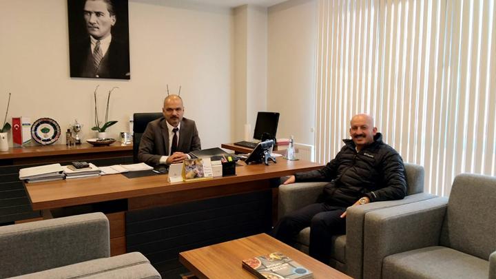 DERGAZ Bölge Müdürü Ender ONUR'a çalışma ziyaretimiz