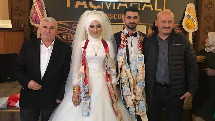 Bülent İlhan ile Bilgehan Arslan çiftinin düğün merasimine katıldık
