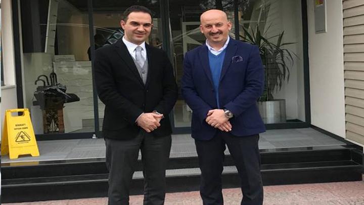 SEDAŞ Dağıtım Direktörü Sayın Dr.Ersan ŞENTÜRK'e çalışma ziyaretimiz