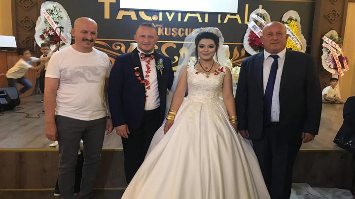 Gökhan Sert ile Merve Gül Akça'nın düğün merasimine katıldık