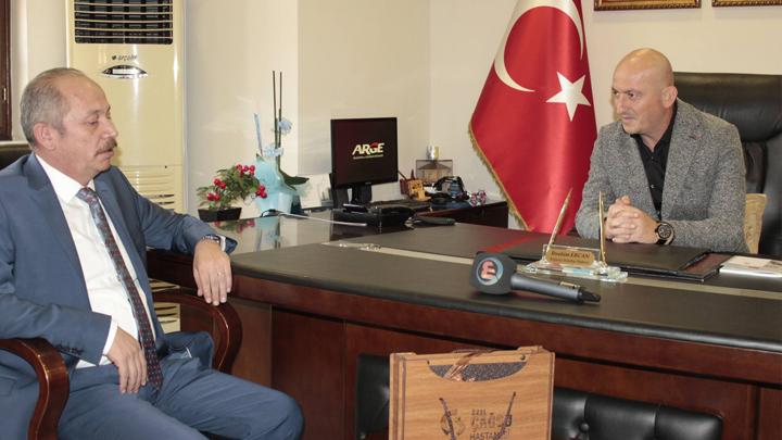 Çağsu Hastaneleri Yönetim Kurulu Başkanı Cavit DEMİR 'in ziyareti