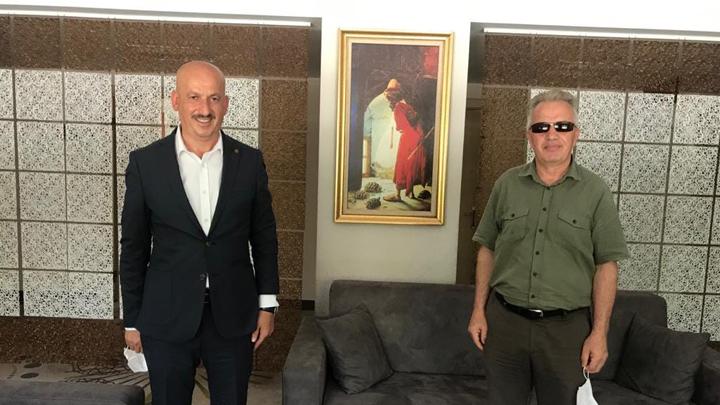 İLBANK Yönetim Kurulu Başkan Vekiline ziyaretimiz.