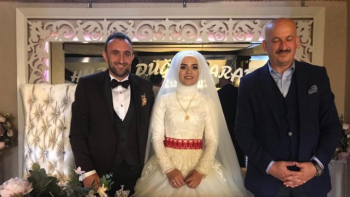 Vildan İnanlı ile Serkan Dilekoğlu 'nun düğün merasimine katıldık