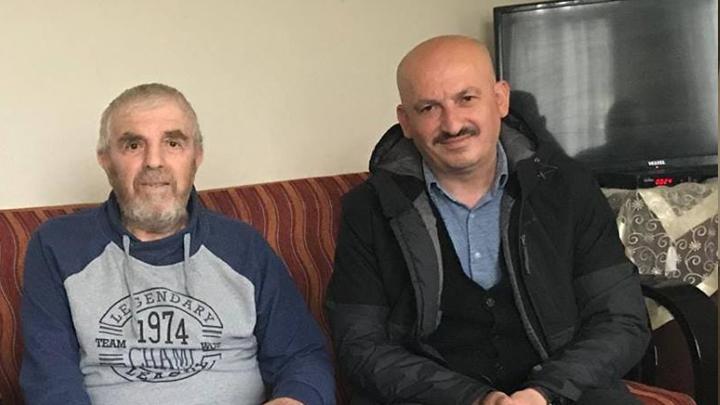 Zekeriya Zengin'e geçmiş olsun ziyaretinde bulunduk