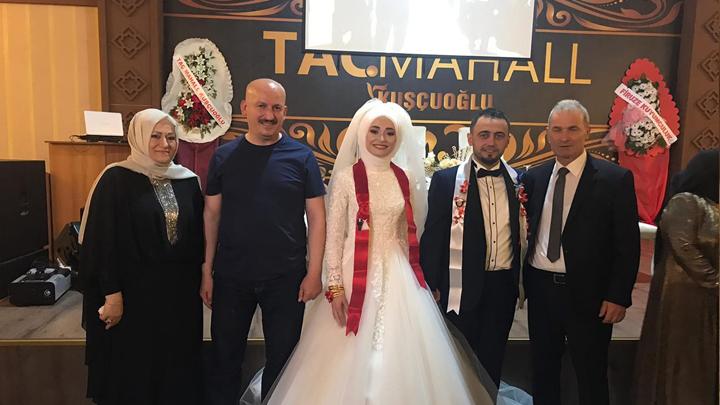 Şeyma Yazgeldi ile Emre Güler'in düğün merasimine katıldık
