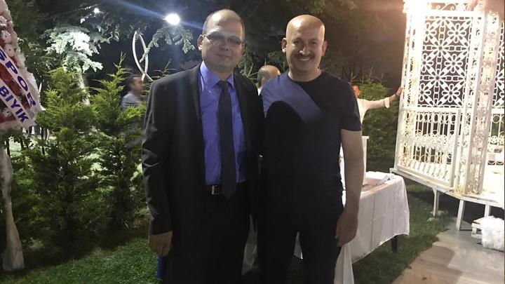 Ogün Şişman ile Melike Özcan'ın düğün merasimine katıldık