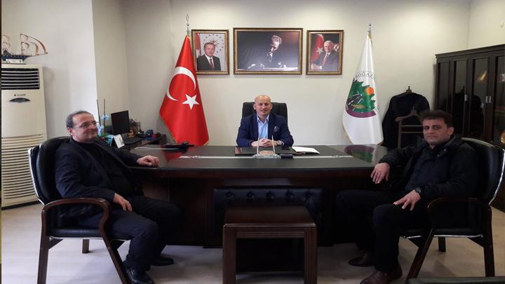 Kaynaşlı Belediye Başkanı Sayın Erol Bayraktar'ın ziyareti