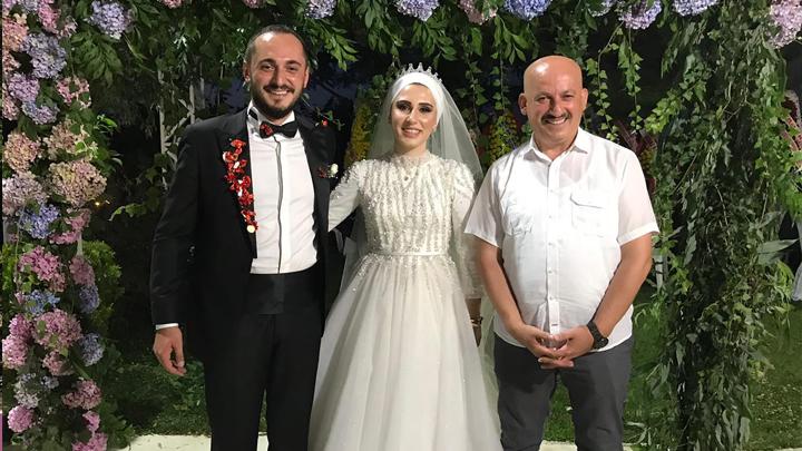 Ömer Yılmaz ile Seda Eser'in düğün merasimine katıldık