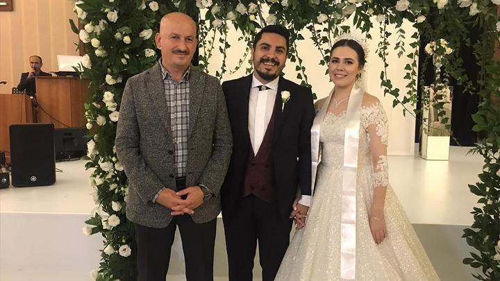 Mahmuthan Çakır ile Sedef Yalçın'ın düğün merasimine katıldık