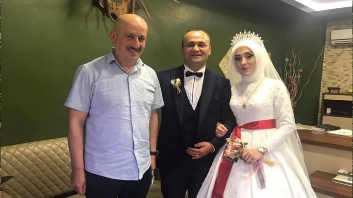 Feyzanur Gülaçtı ile Hamit Seis ?in düğün merasimine katıldık