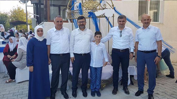 Belediye Personelimiz Muhammet Altınışık'ın oğlu Rıfat Nabi'nin sünnet merasimi