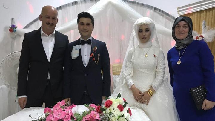 Öznur Özkan ile Veyis Alkan çiftinin düğün merasimine katıldık