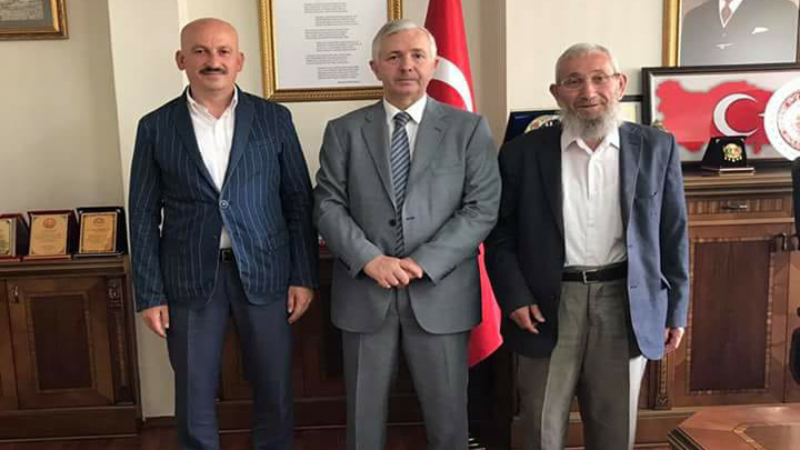 Ankara İl Müftüsü Sayın Mehmet SÖNMEZOĞLU'na ziyaretimiz