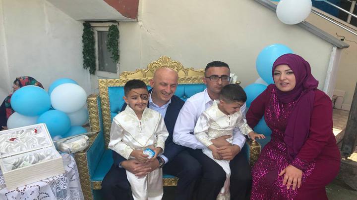 Miraç ve Talha'nın sünnet merasimine katıldık