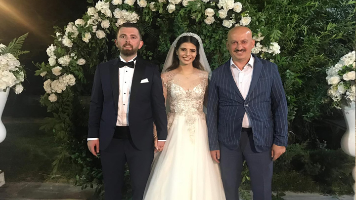 Elanur Kurt İle Mesut Sertoğlu'nun düğün merasimine katıldık