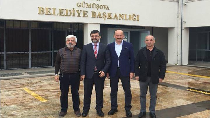 Gümüşova Belediye Başkanı Sayın Ahmet AZAP'a çalışma ziyaretimiz
