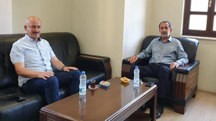 Kaynaşlı Belediye Başkanı Sayın Birol Şahin'in Ziyareti