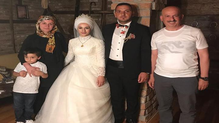 Sevda TERS ile Engin DAĞDELEN çiftinin düğün merasimine katıldık