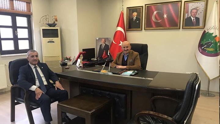 Düzce İl Nüfus ve Vatandaşlık Müdürü Hasan Bilgetay'ın Ziyareti