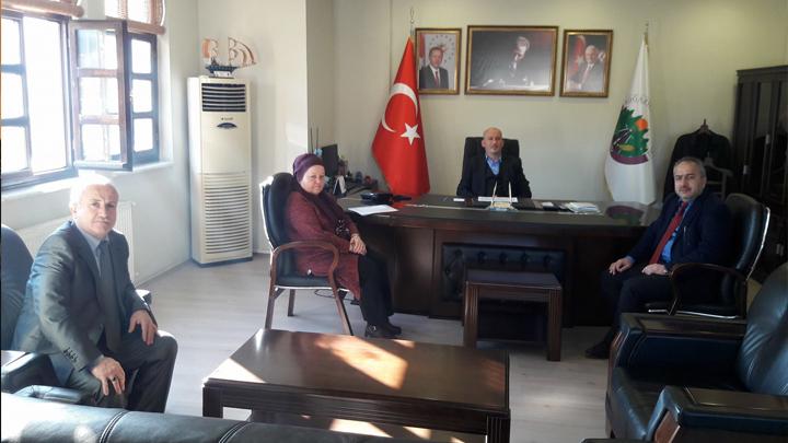 BEM-BİR-SEN (Belediye ve Özel İdare Çalışanları Sendikası) Düzce Il Başkanının ziyareti