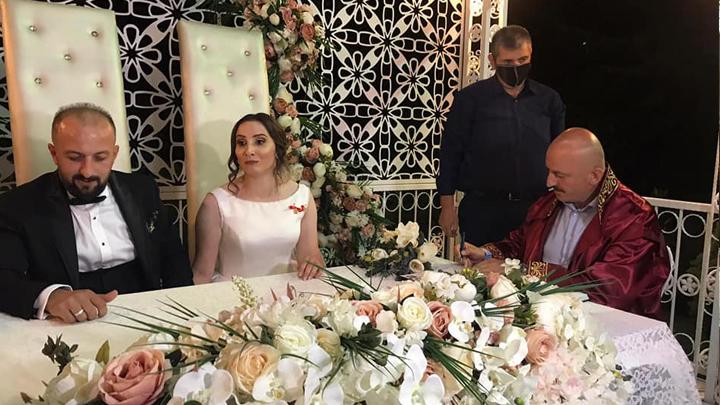 Tuğba Hunç ile Kerim Albayrak'ın nikah akdini gerçekleştirdik