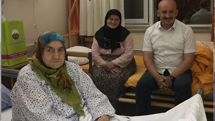 Beyköy Belediye Başkanımız Sayın Osman Kılıç'ın annesi ne geçmiş olsun ziyaretimiz