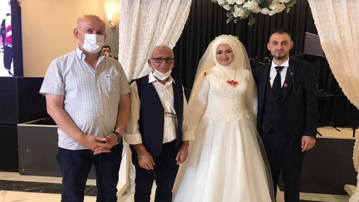 Şengül Sarıgüzel ile Taner Karaca?nın düğün merasimine katıldık