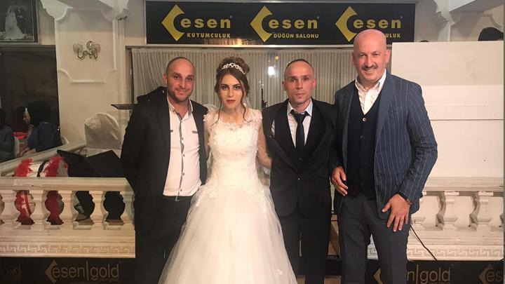 Zeynep Bilgiç ile Mürsel Çavuş'un düğün merasimine katıldık