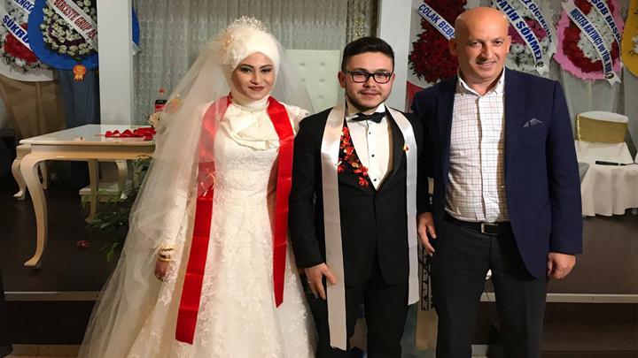 Rümeysa KURNAZ ile Tunahan GÜNEY'in düğün merasimine katıldık.