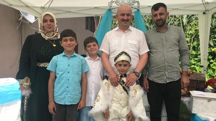 Ufuk Mustafa'nın sünnet merasimine katıldık