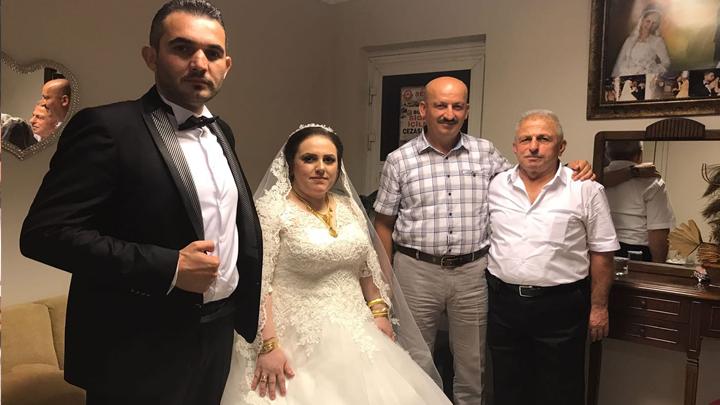 Selma Sert ile Ümit Güven çiftinin düğün merasimine katıldık