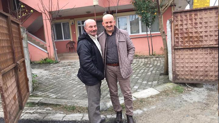 Musa Demir'i evinde ziyaret
