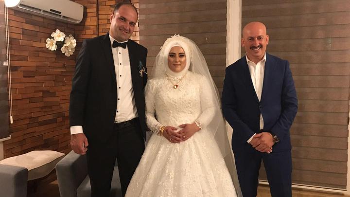 Sevinç Soyer ile İdris Keleş çiftinin düğün merasimine katıldık