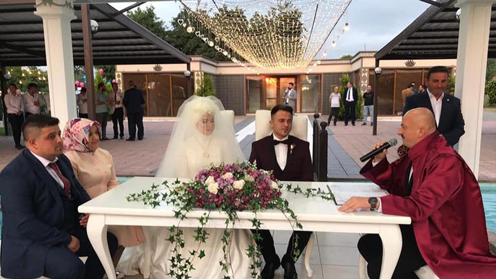 Gizem İyrek ile Ensar Bozdemir'in düğün merasimine katıldık
