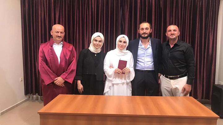Ömer Yılmaz ile Seda Eser'in çiftinin nikah akdini gerçekleştirdik.