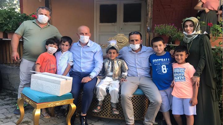Eren Talha'nın sünnet merasimine katıldık