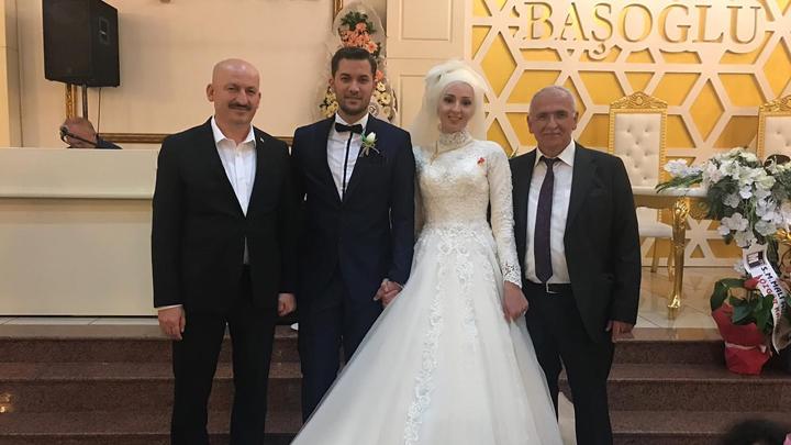 Sümeyra Çabuk ile Emrah Güner'in düğün merasimine katıldık