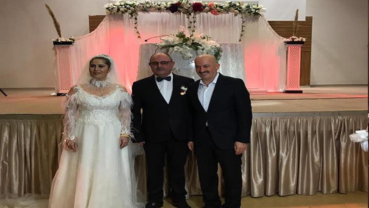 Düzce TV Program Yapımcısı Mehmet İbrahimoğlu ile Aysel Geçit çiftinin düğün merasimi