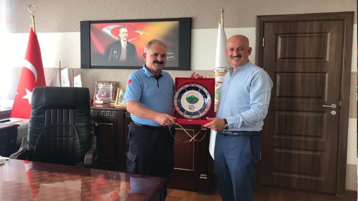 Kastamonu Orman Bölge Müdürü Sayın Fahri Sönmezoğlu'na