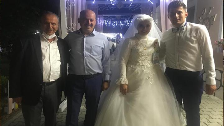 Tuğba Kuru ile Üzeyir Alemdar'ın düğün merasimine katıldık