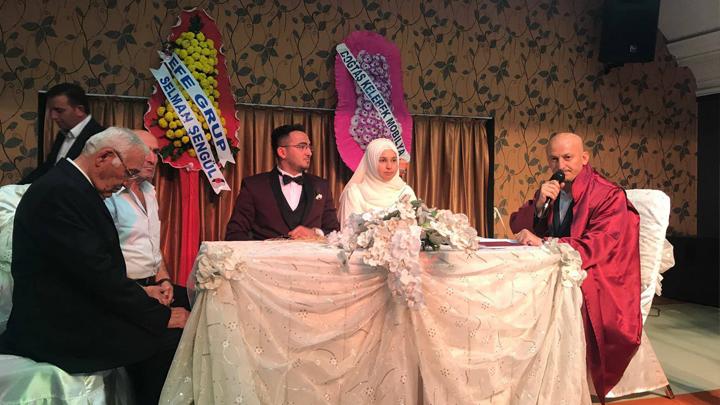 Ayşe ÖZCAN ile Şaban KARA çiftinin düğün merasimi