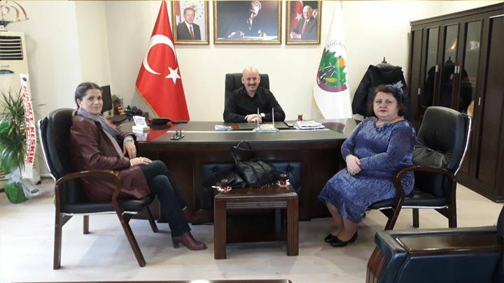 Düzce AK Parti Merkez İlçe Yönetiminden Sayın İmran ÖZ ve İl Yönetiminden Sayın Necla ERDOĞAN'ın ziyareti