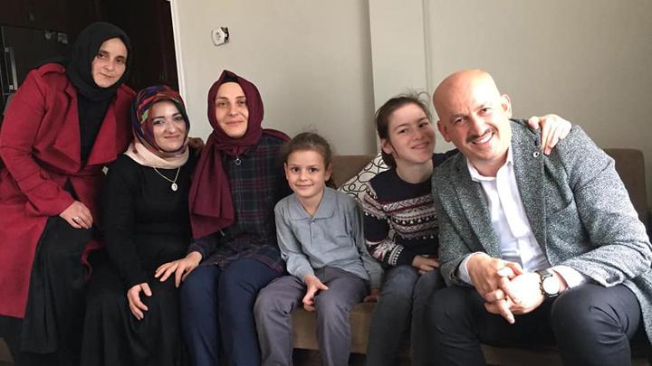 Sudenaz Sağlam'ı evinde ziyaret ettik