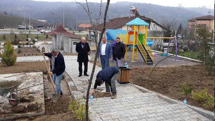 Başkan ERCAN Pazaryeri Meydan Projesini inceledi