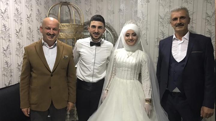 Halit Subaş ile Nurhan Saygılı çiftinin düğün merasimine katıldık