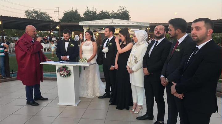 Meryem Nur Yıldız ile Burak Sert'in düğün merasimine katıldık.