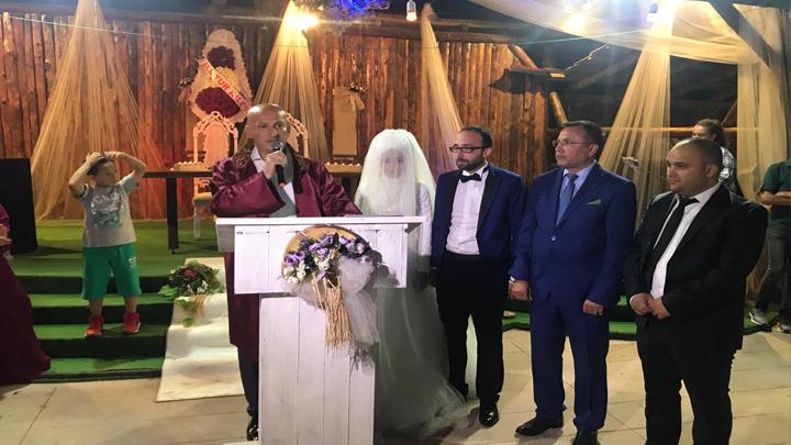 Merve CAP ile Salih DİNLER çiftinin düğün merasimine katıldık