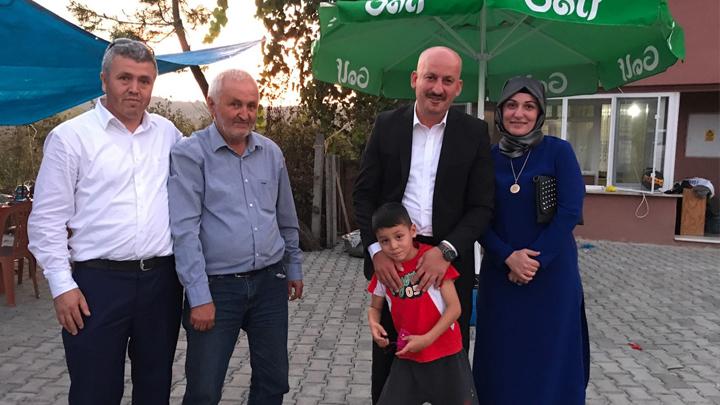 E.Albay İdris Güdük'ün torunu Mehmet Han'ın sünnet merasimine katıldık